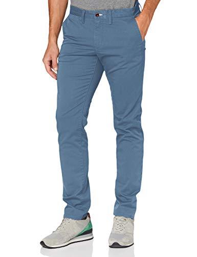 GANT Slim Twill Chino Pantalones, Azul (Coronet Blue 401), W44/L34 para Hombre
