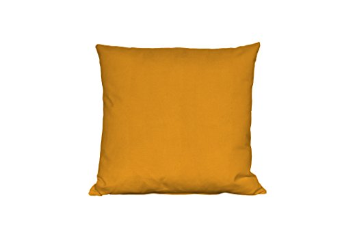 Jover Basic In & Out Cushion, Polyester, Orange, 45.0 x 15.0 x 45.0 cm