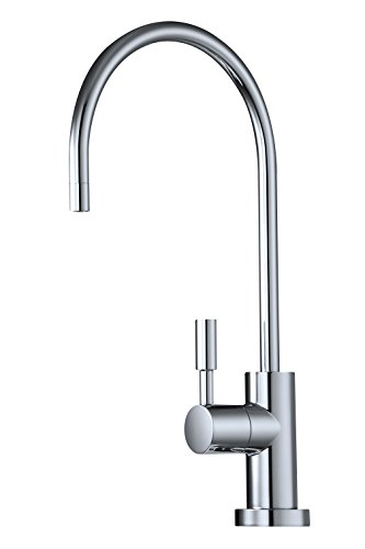 Avanti Designer Kitchen Bar Sink Reverse Osmosis RO Filtration Drinking Water Faucet - NSF certified, ceramic disk, lead-free, non-air gap - RF888-CP Polished Chrome