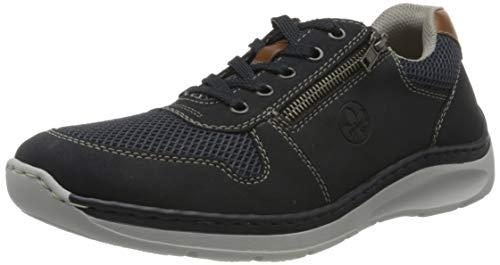 Rieker Herren Frühjahr/Sommer B8931 Slip On Sneaker, Blau (Pazifik/Atlantis/Amaretto/ 15 15), 42 EU