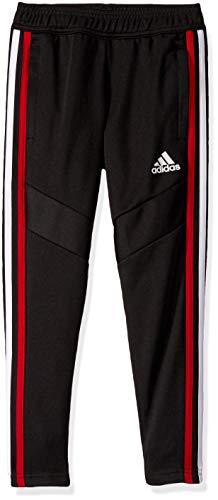 adidas Unisex Kids Tiro 19 Training Pant Black/Power Red/White/Bold Blue Medium