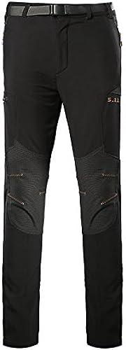 Pantalons Pantalon Soft Shell Couleurs mélangées au Chaud Pantalon vêteHommests de Plein air Escalade