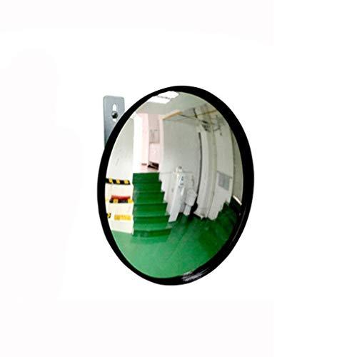 GGLV Acrylspiegel Konvexer Sicherheits-Eckspiegel Blinder Fleck Spiegel Leichter, runder PP-Rahmen Weitwinkel-Sichtfeldspiegel (Größe: 16 cm) 0826 (Size : 22cm)
