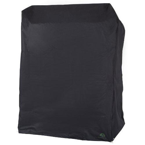 Ultranatura Strandkorb Schutzhülle Palace, aus der Sylt Serie, Maße 128x105x160 cm, Mit Reißverschluss und hochwertigen Metallösen, hochwertiges Oxford Polyestergewebe 600D, ca 7 mm stark - 4