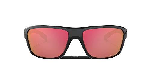 Oakley Unisex-Adult Split Shot Sunglasses, (Polished Black), 64
