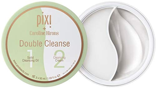 Aceite limpiador de Pixi + Caroline Hirons de dos estados