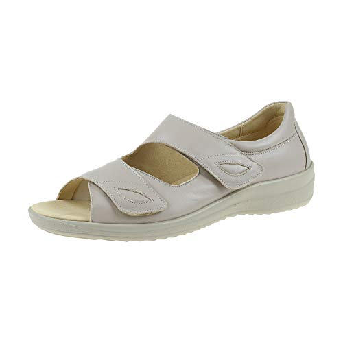 Ströber Damenschuhe Sandale Aluminium 749208H18 (41 EU)