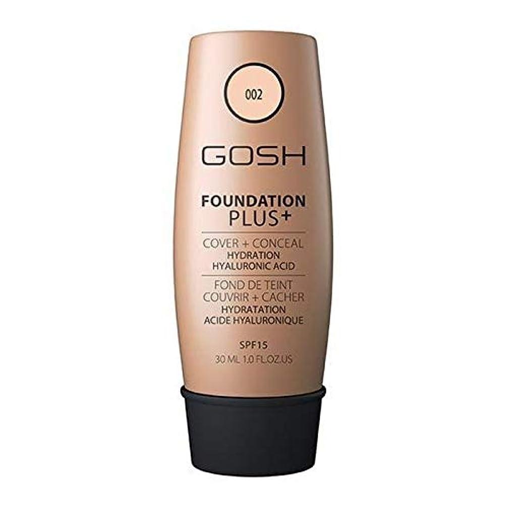 有力者プレゼント知らせる[GOSH ] おやっ基礎プラス+アイボリー002 - Gosh Foundation Plus+ Ivory 002 [並行輸入品]