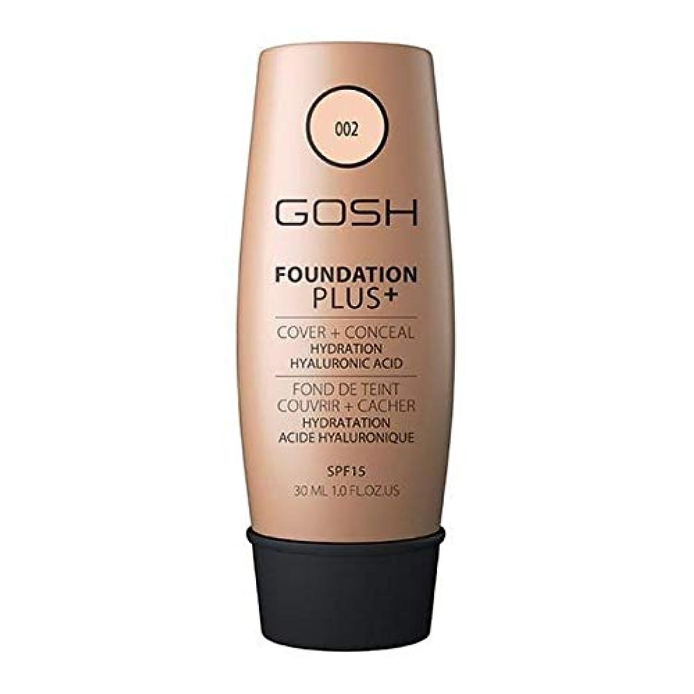 アクセスできない反対する効果[GOSH ] おやっ基礎プラス+アイボリー002 - Gosh Foundation Plus+ Ivory 002 [並行輸入品]