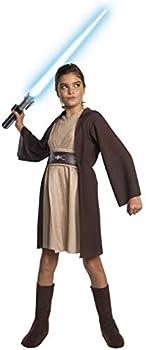 Rubie s Star Wars Classic Child s Deluxe Jedi Hooded Dress Medium