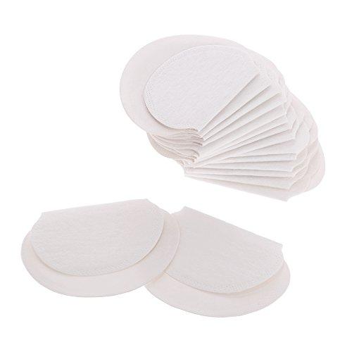 Anself 20 piezas de verano almohadilla para el sudor protección absorbente de la transpiración axila axila almohadilla para el sudor desechable