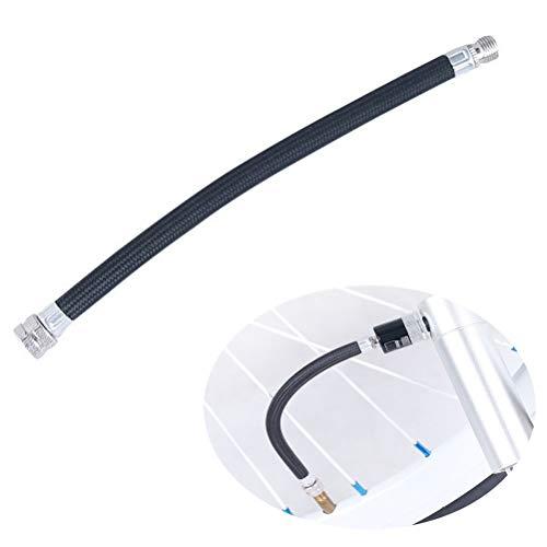 Hihey Tragbare Fahrrad-Luftpumpe Verlängerungs-Schlauch Fahrradpumpe Verlängerungsschlauch Ventiladapter für Schrader Valve