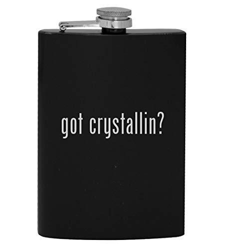 got crystallin? - 8oz Hip Drinking Alcohol Flask