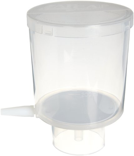 Whatman 10443423 ZapCap Cellulose Regenerated Bottletop Filter Unit, Nylon Membrane, 0.45 Micron, 500mL Volume (Pack of 12)