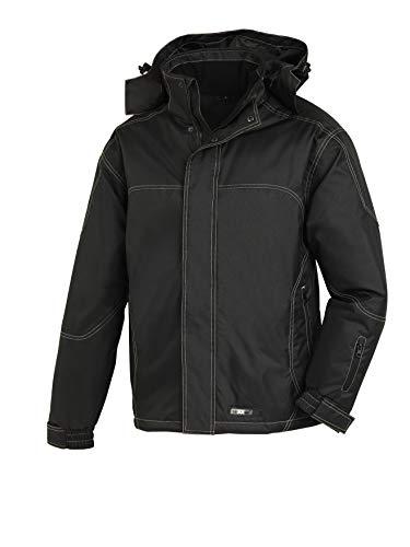 teXXor Winterjacke Aspen, gefütterte Arbeitsjacke wind und wasserabweisend XL, schwarz, 4137