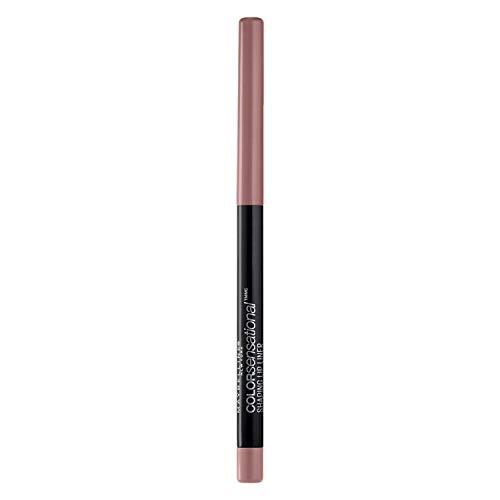 Maybelline New York Makeup Color Sensational Shaping Lip Liner, Dusty Rose, Rose Lip Liner, 0.01 oz