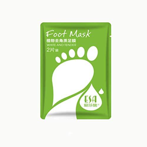 BabySkin Ultimate Foot Peeling Mask, mascarilla exfoliante para pies con exfoliación para talones agrietados, piel muerta y callosidades