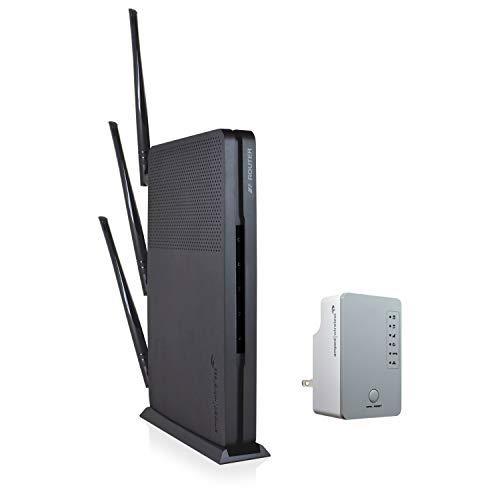 Amped RTA1200 Wireless High Power 800mW AC1200 Wi-Fi Router