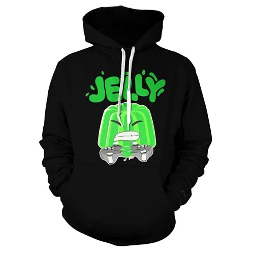 BBGULADY Unisex Cartoon Crazy-Jelly 6-16 Years Old Hoodie Pullover Hooded Sweatshirt 1-18-20 Years