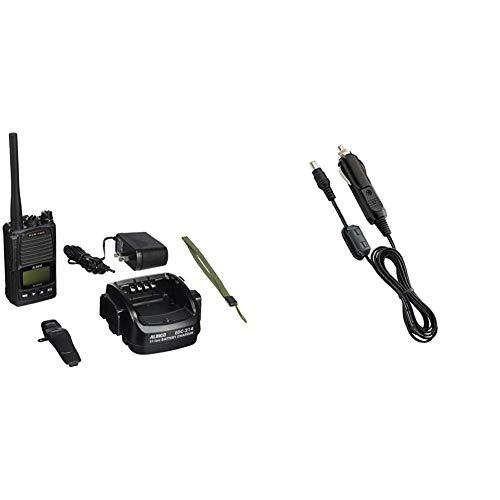 【セット買い】アルインコ  5W デジタルトランシーバー DJ-DPS70KA & ALINCO アルインコ EDH-43 接続用シガーケーブル EDC-194A