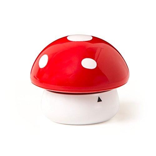 Balvi - Minuteur de Cuisine mécanique Fungo. Très Design, décoratif, en Plastique. Ne nécessite Pas de Piles.