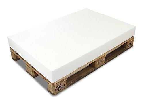 MSS® PALETTENKISSEN MATRATZENKISSEN (120x80x12 cm) Schaumstoff FÜR EUROPALETTE/HUNDEKISSEN/Auflage