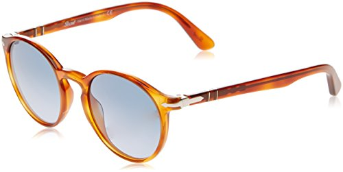 Persol PO3171S 96/Q8 Terra Di Siena PO3171S Round Sunglasses Lens Category 3 Si, 49-20-145