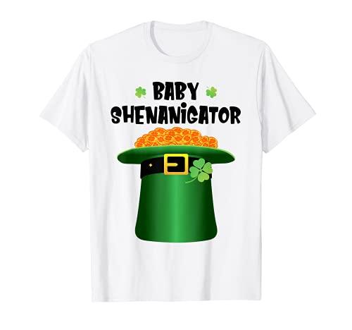 Bebé Shenanigator Día de San Patricio Niños Niñas Shenanigans Camiseta
