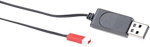 Simulus Zubehör zu Drohne WiFi: USB-Ladekabel für Quadrocopter GH-4.FPV, 60 cm (Faltbare Drohne mit HD-Kamera)