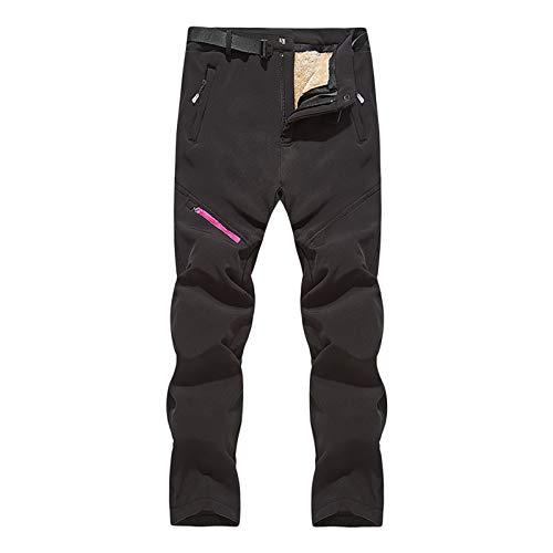 Pantalones para mujer, pantalones de asalto extraíbles para exteriores, de forro polar grueso y suave, para vacaciones de verano