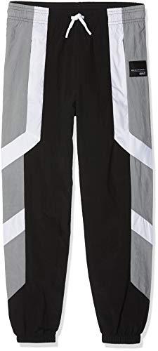 adidas Equipment - Pantalones para niño, Niños, Pantalones, D98892, Negro/Blanco/Gris, 134