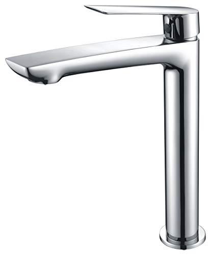 Grifo de lavabo caño alto Imex Luxor BDX023-3