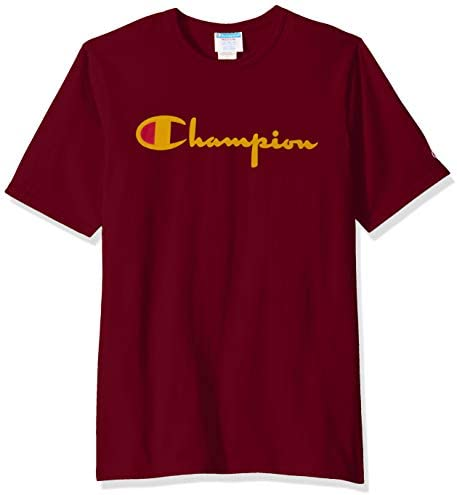 Champion Life Men s Life Heritage Tee Cherry Pie w Flock Script Small product image
