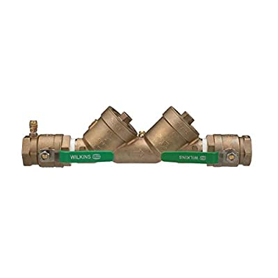 "Zurn 2-950XLT2 Wilkins Double Check Valve Backflow Preventer, Lead Free, 2"" - 483030LF from Zurn"