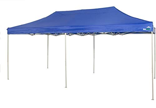 MaxxGarden Pavillon 3x4m - wasserdicht - Pop-Up inkl. Tasche - UV-Schutz 50+ - Faltpavillon Gartenzelt Partyzelt - Blau - Farbauswahl