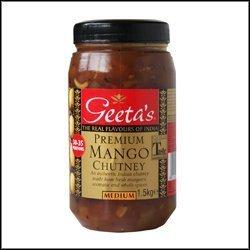 Chutney Mango Premium de Geeta 1,5 kg