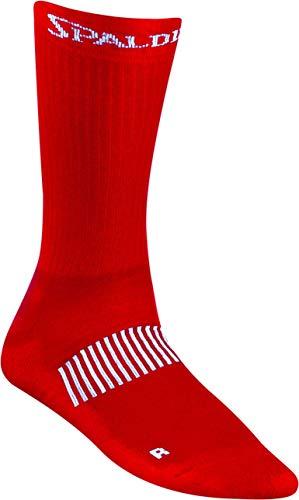 Spalding Mens 300319608_46-50 Socks, red,White, 46-50