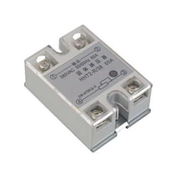 SSR-25DD 25A 5-220V CC Rel/é de Estado S/ólido M/ódulo de Rel/é de Estado S/ólido