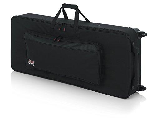 Gator Keyboard-Koffer (für Keyboards mit 61 Tasten, leicht, mit Rollen, ca. 49,5 x 123,5 x 22,5 cm)