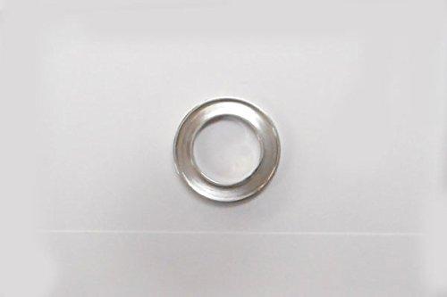 S◆P キラキラ アクセサリー パーツ サークル 円形 チャーム 外径:16.0mm 手作り (ハンドメイド) ペンダントフレーム パーツ ステンレス316L (ステンレスカラー)