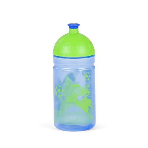 ERGOBAG LiBearo 2:0 Trinkblase, 20 cm, 0.5 Liter, Zig Zag Blue Green