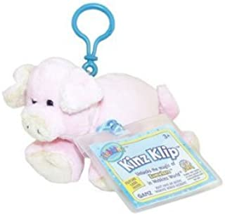 Webkinz Virtual Pet Plush - Kinz Klip - PIG