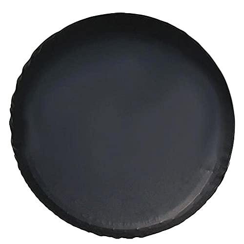 Dreafly Cubierta Universal de neumático de Repuesto de 14-17 Pulgadas, Cubiertas de PVC para neumáticos de automóvil, Protector Impermeable a Prueba de Polvo para Accesorios de Rueda de Coche