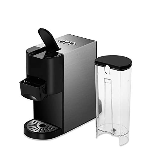 BUJIANJ 3 en 1 Cafetera de café espresso con cápsulas múltiples, ajuste y polvo de...