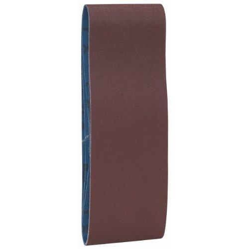 Bosch 2 608 606 022 - Set de 3 bandas lijadoras (65 x 410 mm, 220)