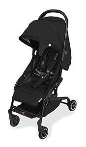 Maclaren Atom Style Set silla de paseo ligera, compacta y de plegado plano, Para niños de recién nacidos hasta 25 kg, capota extensible UPF 50+ y asiento reclinable, Accesorios incluidos, Negro