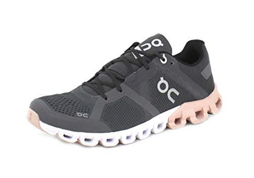 On Running Womens Cloudflow Cloudflow Rock/Rose Running Shoe - 8.5