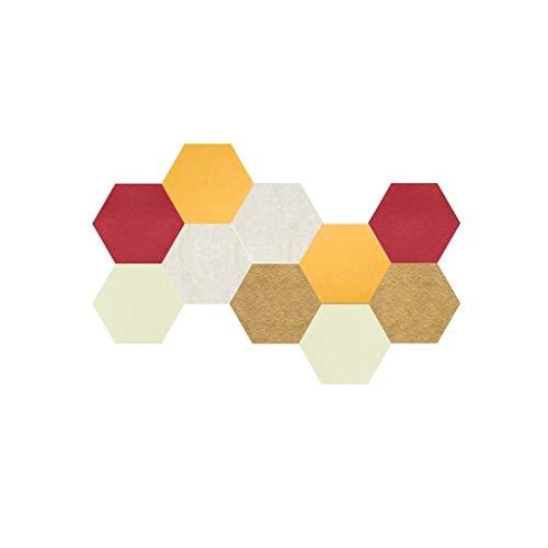 Z-XIYIN gekleurde hexagon vilten tegels board bedrijf onze Memo bulletins boards familie viltkarton tegels voor fotodisplay met totaal