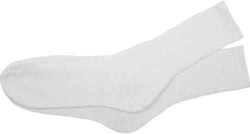 Socks Uwear Herren Sport-Socken, Gr. 39-46, 10 Paar, Weiß