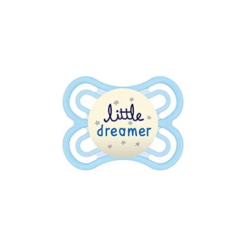 MAM Babyartikel, Succhietto luminoso per la notte, 0 - 6 mesi, modelli assortiti – Istruzioni in lingua straniera